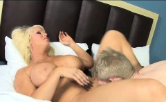 Alura Jenson Fucks and Sucks Her Fan Rob