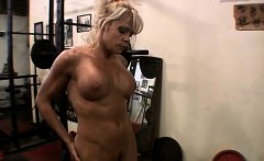 Mature Mandy in the Gym