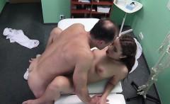 Doctor fucks patient who loves cum