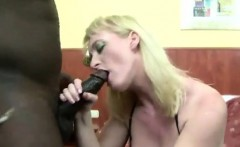 Mature get black colored cock in asshole