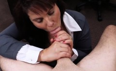 Busty milf pounded to earn money to bail out her hubby