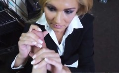 Blonde nice massage Hot Milf Banged At The PawnSHop