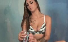Sasha Foxx gives an intense teasing POV handjob. She loves