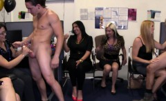 outrageous office stripper party video
