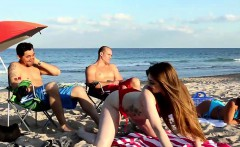 Beach Bait And Switch With Gina Valentina and Kobi Brian