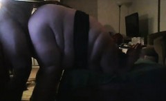 Fat plumper gets her cunt licked, dicked, and then sucks hi