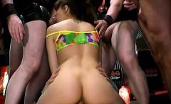 Slut gets double penetration