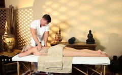 Very tricky spa of attractive masseur