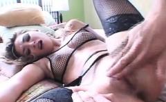 Tight ass blonde bitch getting plowed hard