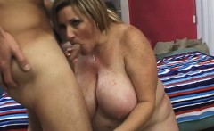 fat blonde deedra rea gets a thrill out of having sex with a stranger