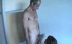 husband and wife audition on camera matures