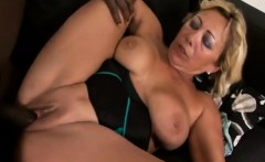 Busty Mature Sarah Tries Her Firs Black Dick!