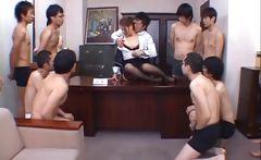 Aya matsuki kinky asian doll in office