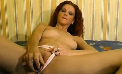 German redhead doing casting