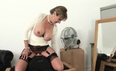 Adulterous british milf lady sonia shows her big hooters