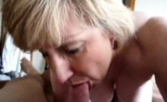 Adult blonde sucking dick dry