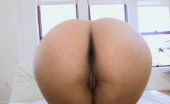 Millie oils ass and sucks bbc on casting