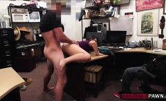 Slutty babes fucked by a horny pawndude