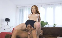Busty babe Isabella Lui asshole screwed by hard man meat