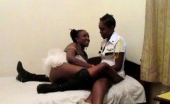 Gorgeous African lesbians love toying their sweet assholes
