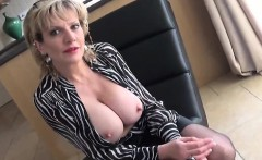Unfaithful british mature lady sonia showcases her big hoote