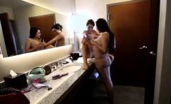 Lesbian hottie pov licks