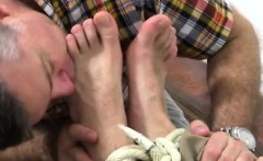 Gay sex hairy man with boy cut free Chase LaChance Tied Up,