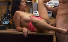 Big tits babe nailed by nasty pawn dude in many positions