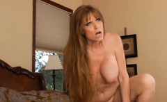 Heavy Tits MILF Rides Thick Young Cock Darla Crane