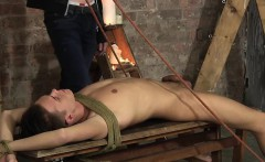 Ashton Bradley taking care of his twink with flogging
