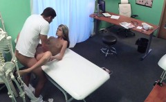 FakeHospital Shy cute Russian cured by cock in mouth