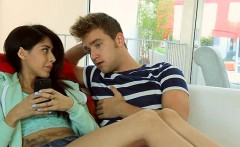 Sweet darling and mature playgirl are ravishing men pecker