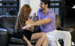 perky boobs babe bianca resa glamour sex with handsome guy