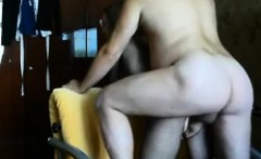 milf ass  fuck creampie on real homemade