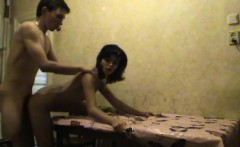 teens fuck in a dirty kitchen