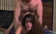 Young vintage amateur pussyfucked by old guy