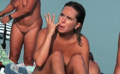my beach voyeur video with the company of hot nudists