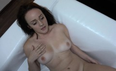 czech casting   first threesome in her life