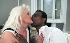 Interracially fucked granny loves to cumplay