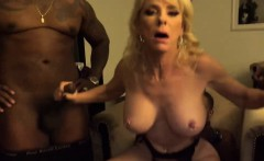 Blonde Milf Cmamille Austin Gang Banged By Black Rods