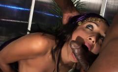 hot gypsy bounces on a bbc
