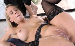 Domina gets creampied