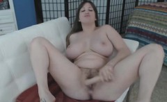 Playing With Huge Mega Tits And Toys Makes Her Squirt