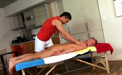 Sensual And Sexy Massage Session For Nice-looking Twinks