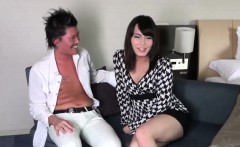 Japanese newhalf cocksucking after analsex