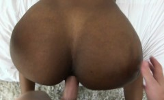 roundass ebony babe banged doggystyle
