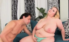 Big Boobed BBW Uses Her Body to Please a Thick Cock