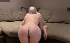 Uk blonde self anal fisting in casting