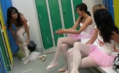 Naughty college teen Hot ballet chick orgy