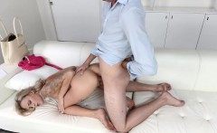 Hot tattooed Emma gets banged by client